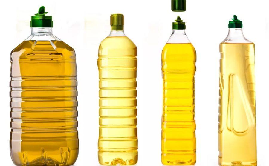 ПЭТ бутылка из под растительных масел