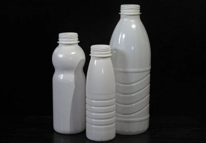 ПЭТ бутылка белая (кефирная)