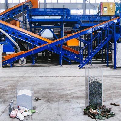 Запуск завода по переработке вторичных полимеров «Фантастик Пластик»